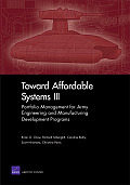 Toward Affordable Systems III: Portfolio Management for Army Engineering and Manufacturing Development Programs