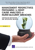 Management Perspectives Pertaining to Root Cause Analyses of Nunn-McCurdy Breaches: Program Manager Tenure, Oversight of Acquisition Category II Progr