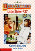 Baby-Sitters Little Sister #027: Karen's Big Joke