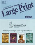 Complete Directory of Large Print Books and Serials 1998 (Complete Directory of Large Print Books & Serials)