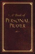 A Book of Personal Prayers
