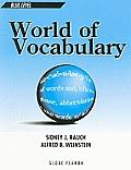 World of Vocabulary Blue Level
