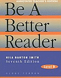 Be a Better Reader, Level D