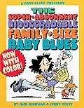 Super Absorbent Biodegradable Family Size Baby Blues
