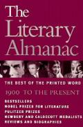 The literary almanac :the best of the printed word, 1900 to the present. Cover