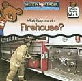 What Happens at a Firehouse? (Where People Work)