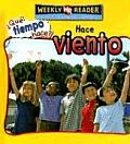 Hace Viento (Let's Read about Wind) (Que Tiempo Hace?)
