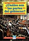 Cuales Son las Partes del Gobierno? = What Are the Parts of Government?