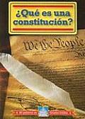 Que Es Una Constitucion? (Mi Goberierno de Estados Unidos/My American Government)