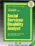 Social Services Disability Analyst