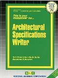 Architectural Specifications Writer: Test Preparation Study Guide, Questions & Answers