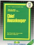 Chief Housekeeper: Test Preparation Study Guide, Questions & Answers