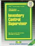 Inventory Control Supervisor: Test Preparation Study Guide Questions and Answers