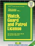 This Is Your Passbook for Watch, Guard and Patrol License