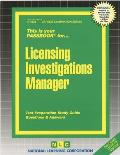Licensing Investigations Manager