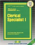 Clerical Specialist I: Test Preparation Study Guide Questions & Answers
