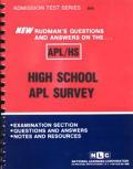 Adult Performance Level Program (APL)