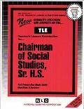 Chairman of Social Studies, Sr. H.S.: Test Preparation Study Guide Questions & Answers