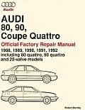 Audi 80 90 Coupe Quattro Official Fact