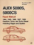Audi 5000s, 5000cs Official Factory Repair Manual: 1984-1988 (Audi)