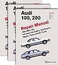 Audi 100, 200 Official Factory Repair Manual: 1989-1991: Including 100 Quattro, 200 Quattro, Wagon, Turbo and 20-Valve Models (Audi)