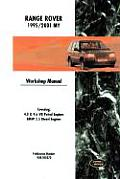 Range Rover Workshop Manual: 1995-2001