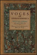Voces De Hispanoamerica : Antolog Cover