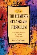 Elements of Language Curriculum (Newbury House Teacher Development)