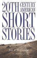 20th Century American Short Stories, Anthology Cover