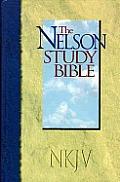 Bible Nkjv Nelson Study Black Bonded Leather