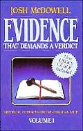 Evidence That Demands A Verdict Volume 1