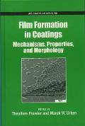 ACS Symposium #790: Film Formation in Coatings: Mechanisms, Properties, and Morphology Cover