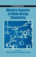 Modern Aspects of Main Group Chemistry
