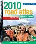 Road Atlas: United States, Canada, Mexico: Mid-Size (American Map)