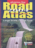 American Map Road Atlas Large Scale 2005