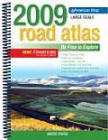 United States Road Atlas 2009 Large Scal