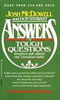 Answers To Tough Questions Skeptics Ask