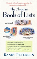 Christian Book Of Lists