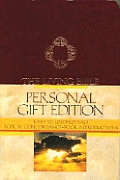 Living Bible, Gift-2361 Personal Burgundy Imitation Leather