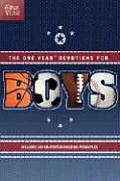 One Year Book of Devotions for Boys #01: One Year Book of Devotions for Boys