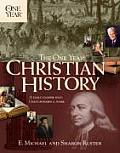 The One Year Book of Christian History (One Year Books)