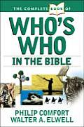 Bible Complete Book Of Whos Who