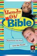 Hands on Bible-Nlt-Children's Cover