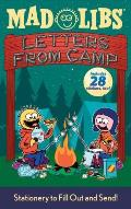 Letters from Camp Mad Libs with Sticker (Mad Libs) Cover