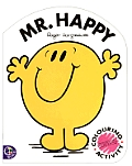 Mr. Happy: Coloring & Activity (Mr. Men Books) Cover