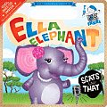 Ella Elephant Scats Like That with CD (Audio) (Baby Loves Jazz) Cover