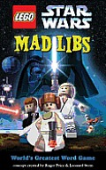 Lego Star Wars Mad Libs Cover