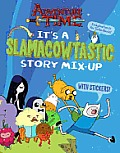 Adventure Time Its a Slamacowtastic Story Mix Up word puzzle