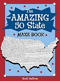 The Amazing 50 States Maze Book Cover