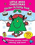 Little Miss Christmas: Sticker Activity Book (Mr. Men and Little Miss) Cover